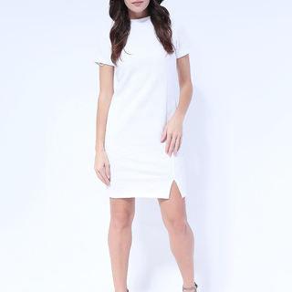 Sarah Knit Dress with Back zipper from Topmanila Clothing (Ash gray)
