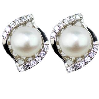 E-Rings Pearl Seashell Earrings (ERS 00448-0110)