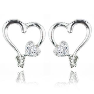 E-Rings 00203 Arrow Hearts (Silver) (ERS 00203-0110)