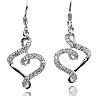 E-Rings Musical Heart Hook Earrings (EDS 00008-0110)
