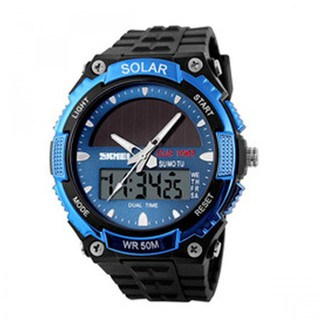 Skmei 50m Waterproof Dual Mode Watch - Blue (LGSKM01049BLU-0004310)