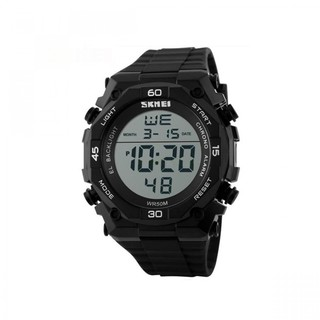 Skmei 50m Waterproof Digital Quartz Sports Watch - Black&Silver (LGSKM01130SLR-0004523)