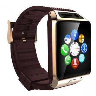 Generic Smart Bluetooth Phone Wrist Watch with Camera - Gold (LGGENGV08SGLD-0005355)