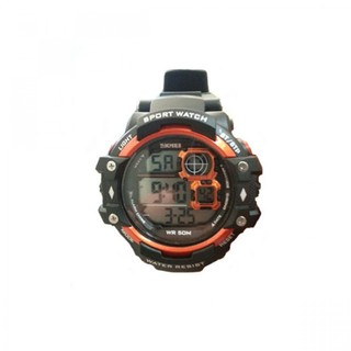 Skmei 50m Water Resistant Sport Digital Watch - Orange (LGSKM01118ORG-0004858)