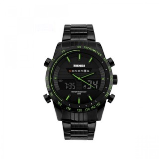 Skmei 30m Waterproof Multimode Watch With Week Hour Minute Seconds Display - Green (LGSKM01131GRN-0004808)