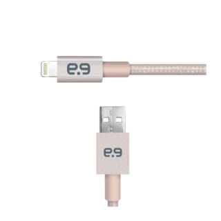 Puregear 4Ft. Mettalic Lightning Cable - Gold