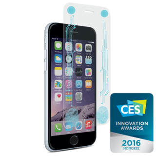PureGear Smart Button + Tempered Glass for iPhone 6/6S Plus