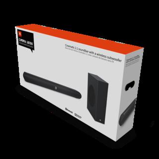 JBL Cinema SB150 Soundbar with Wireless Subwoofer