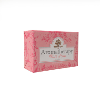 EARTH SPA BLOCK SOAP ROSE WITH SHEA BUTTER 180G (38892)
