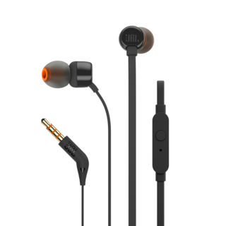 JBL T110 IN-EAR HEADPHON BLACK