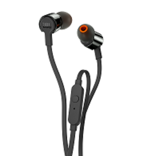 JBL T210  IN-EARHEADPHONE BLACK