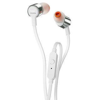 JBL T210 IN-EAR HEADPHONE SILVER