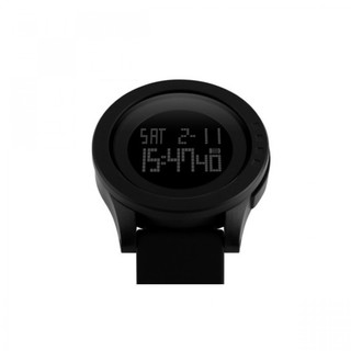 SKMEI Waterproof Digital LCD Sports Watch - Black (LGSKM01142BLK-0004816)