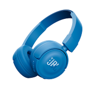 JBL T450 ON-EAR HEADPHONE BLUE