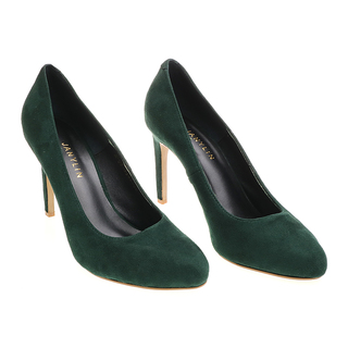 Janylin Suede Pumps (7-3596-GreenSuede)