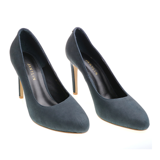 Janylin Suede Pumps (7-3596-BlueSuede)