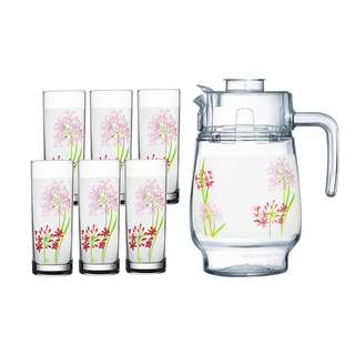 LUMINARC AE G4622 JACINTHE 7PC DRINK SET (AARC154)