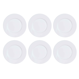 LUMINARC AE J2990 ESSENCE WHITE DINNER PLATE (AARE005)