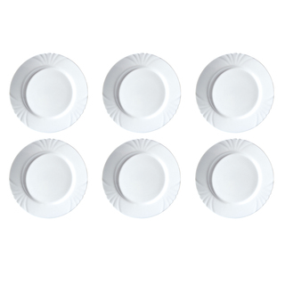 LUMINARC FR D7380 CADIX LARGE DINNER PLATE SET OF 6 (FLUC422)