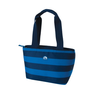 Igloo Bold Stripes Mini Tote 8 Lunch Bag (True Blue) (156855 true blue)