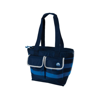 Igloo Bold Stripes Dual Compartment Bag (True Blue) (156871 true blue)