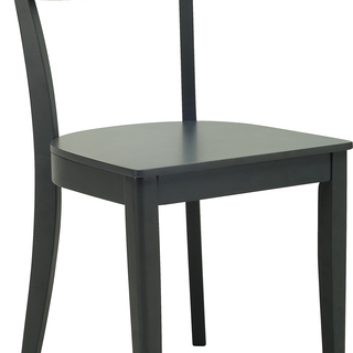 ALVA Charcoal Gray DINING CHAIR