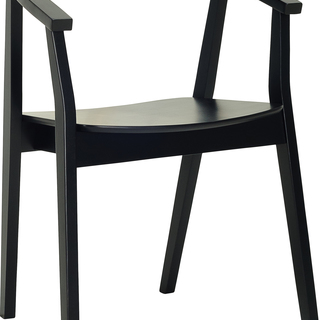 GOYA Black DINING CHAIR