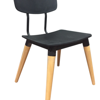 SYDNEY Black DINING CHAIR