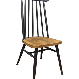 PEAK Black DINING CHAIR