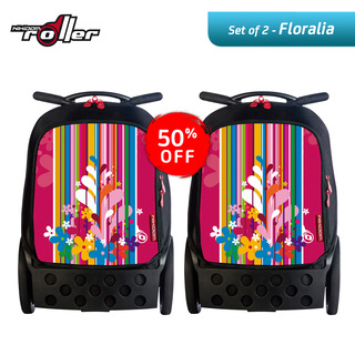 Nikidom RL9009 Set of 2 Large Soft Case Bag (Floralia)