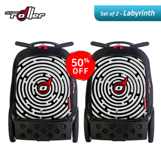 Nikidom RL9012 Set of 2 Large Soft Case Bag (Labyrinth)