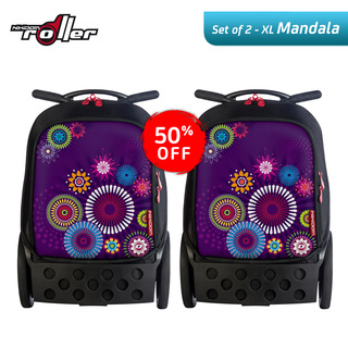 Nikidom RXL9311 Set of 2 Extra Large Soft Case Bag (Mandala)