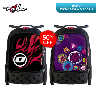 Nikidom RL9003 + RL9011 Large Soft Case Bag (Fire) + Large Soft Case Bag (Mandala)