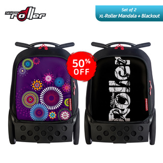 Nikidom RXL9311 + RXL9313 Extra Large Soft Case Bag (Mandala) + Extra Large Soft Case Bag (Blackout)