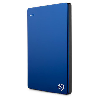 Seagate Backup Plus Slim 1TB External Hard Disk Drive (Blue)