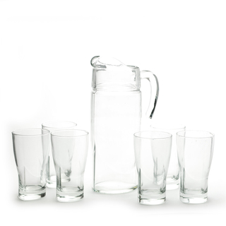 7PC DRINK SET LUMINARC STRUCTURE  (46487)