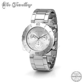 Sporty Metallic Watch