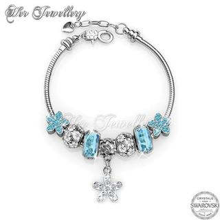 Enchanted Flower Charm Bracelet