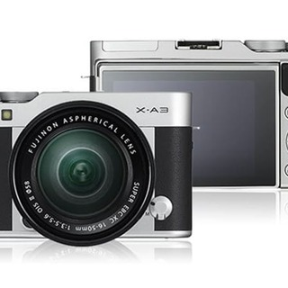 Fujifilm X-A3 24.2MP with 16-50mm lens Kit (Silver)