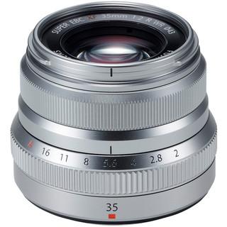 Fujinon XF 35mm f/2 R WR (Silver)
