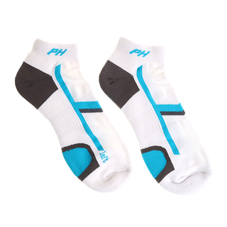 PIN-HIGH TOUR SOCK(SP) WHITE/TURQUOISE (10115)