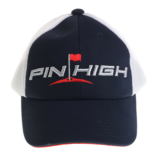 PIN-HIGH OLIVER A MESH MIDNIGHT NAVY/WHITE MESH/ACM RED CAP (402036)