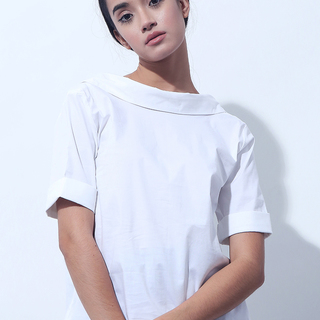CANVAS HEART TOP (White)