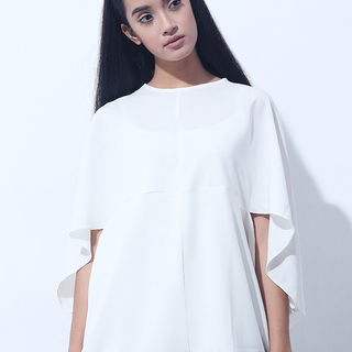 CANVAS OBLONG TOP (White)