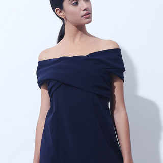 CANVAS BECK CUDLE TOP (Navy)
