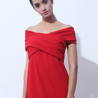 CANVAS BECK CUDLE TOP (Red)