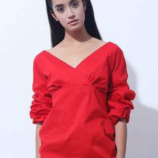 CANVAS ANNA TOP (Red)