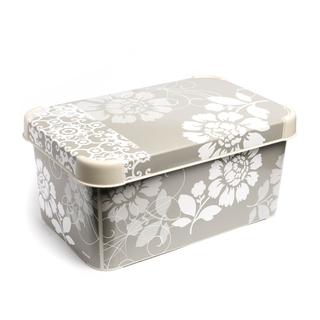 DECO BOX ROMANCE GREY SML (54077)