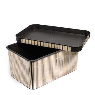 DECO BOX BAMBOO SML (54078)