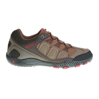 HI-TEC MEN'S SHOES MN-FUERZA III-LOW--TBCR (TAUPE/BROWN/CORE RED)